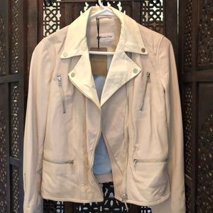Massimo Dutti NWT Leather Jacket